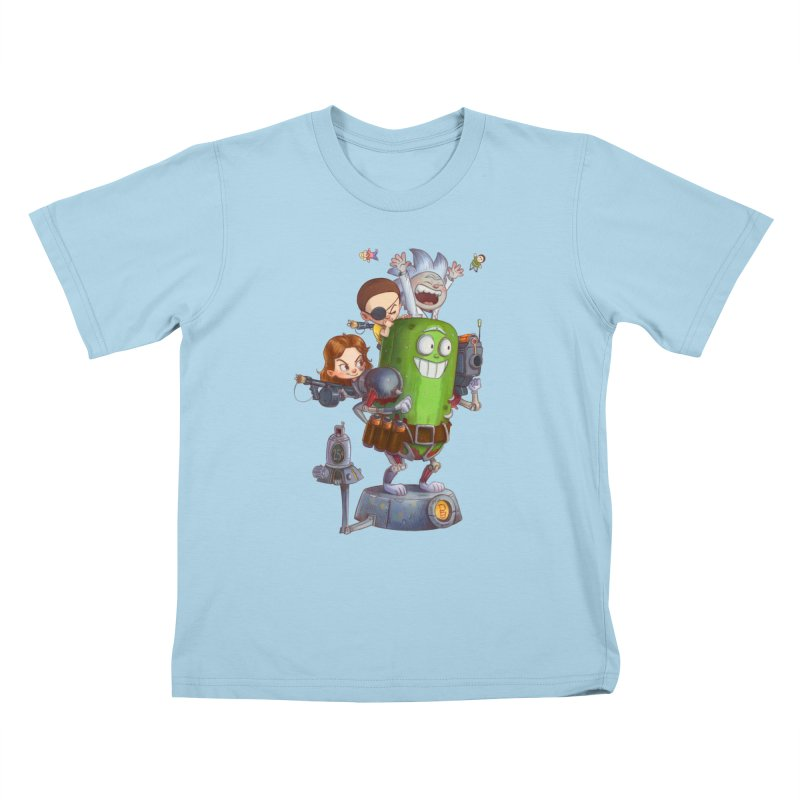 In A Pickle Kids T-Shirt by Patrick Ballesteros Art Shop