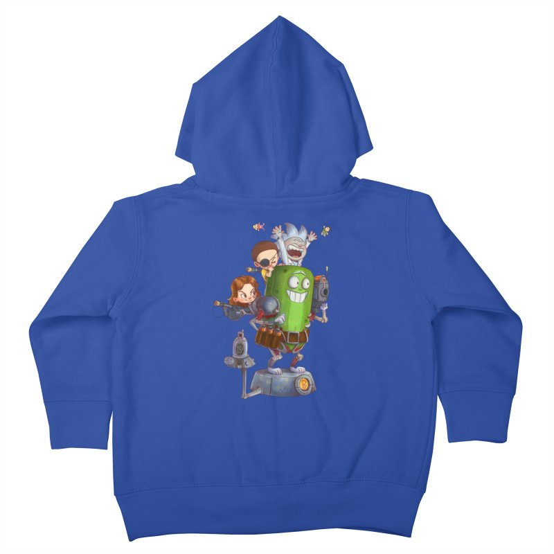 In A Pickle Kids Toddler Zip-Up Hoody by Patrick Ballesteros Art Shop