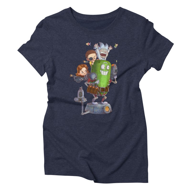 In A Pickle Women's Triblend T-Shirt by Patrick Ballesteros