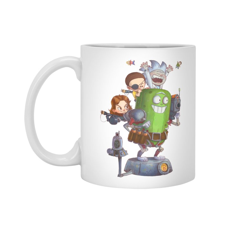 In A Pickle Accessories Mug by Patrick Ballesteros Art Shop