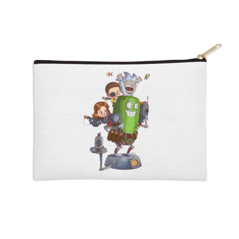 In A Pickle Accessories Zip Pouch by Patrick Ballesteros Art Shop