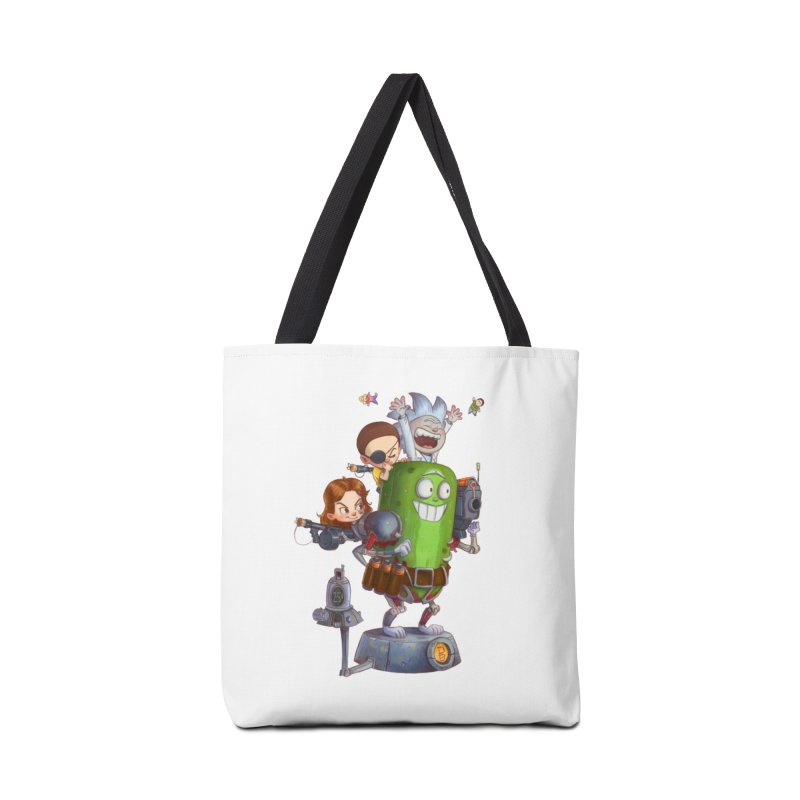 In A Pickle Accessories Bag by Patrick Ballesteros Art Shop
