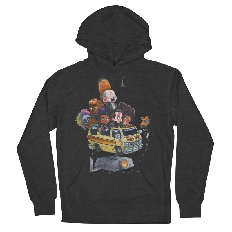 Punky Sisters Women's French Terry Pullover Hoody by Patrick Ballesteros