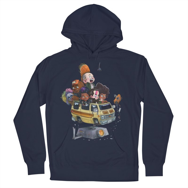 Punky Sisters Men's French Terry Pullover Hoody by Patrick Ballesteros