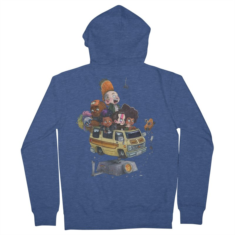 Punky Sisters Men's French Terry Zip-Up Hoody by Patrick Ballesteros