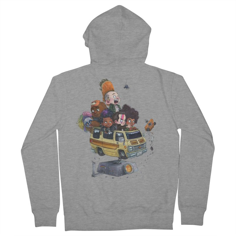 Punky Sisters Men's French Terry Zip-Up Hoody by Patrick Ballesteros Art Shop