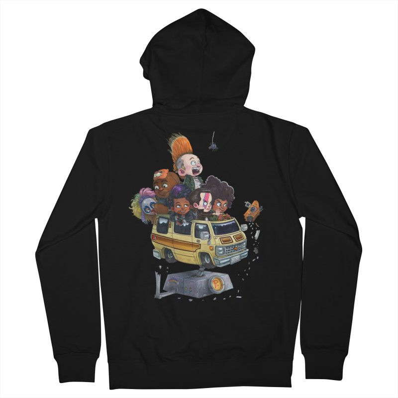 Punky Sisters Men's Zip-Up Hoody by Patrick Ballesteros Art Shop