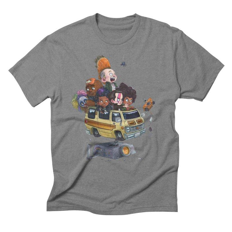 Punky Sisters Men's Triblend T-Shirt by Patrick Ballesteros