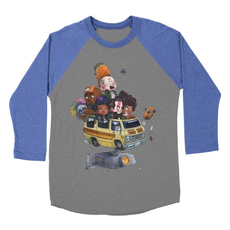 Punky Sisters Women's Baseball Triblend T-Shirt by Patrick Ballesteros Art Shop