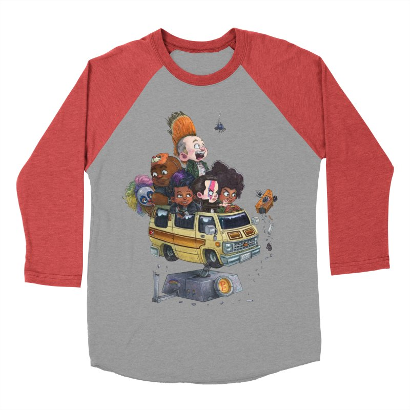 Punky Sisters Men's Baseball Triblend T-Shirt by Patrick Ballesteros Art Shop