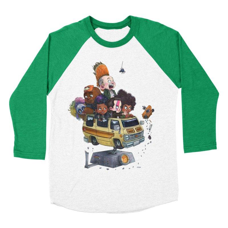 Punky Sisters Men's Baseball Triblend Longsleeve T-Shirt by Patrick Ballesteros Art Shop