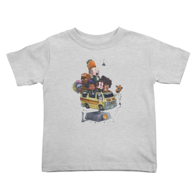 Punky Sisters Kids Toddler T-Shirt by Patrick Ballesteros