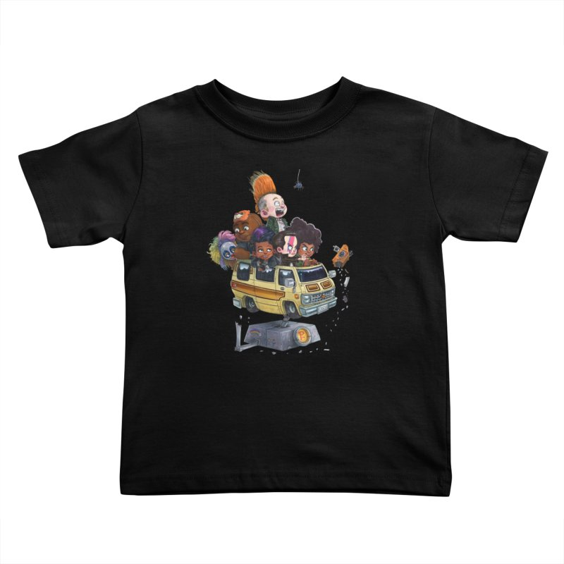 Punky Sisters Kids Toddler T-Shirt by Patrick Ballesteros Art Shop