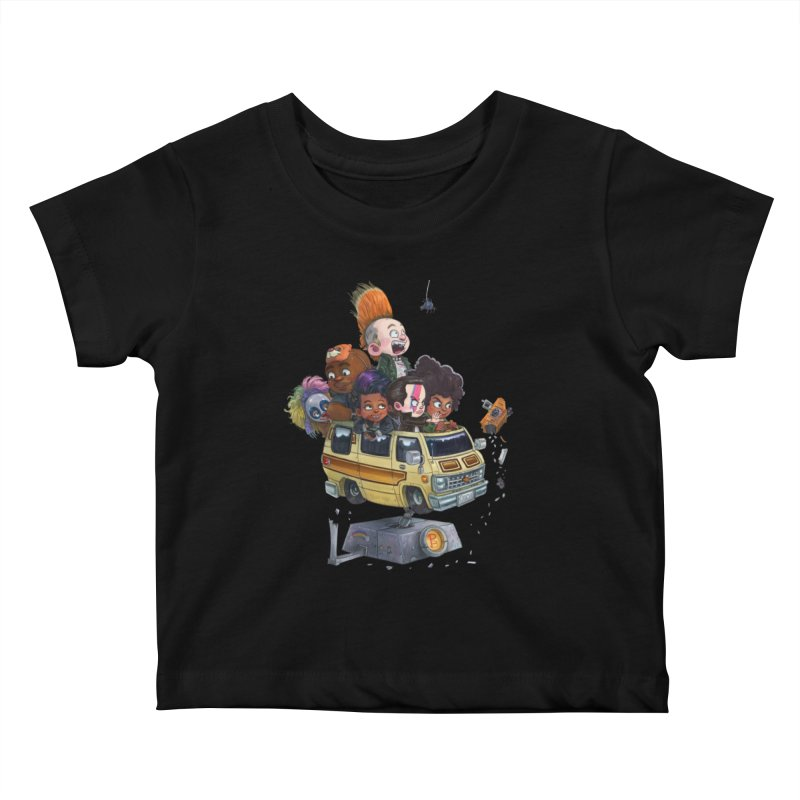 Punky Sisters Kids Baby T-Shirt by Patrick Ballesteros Art Shop