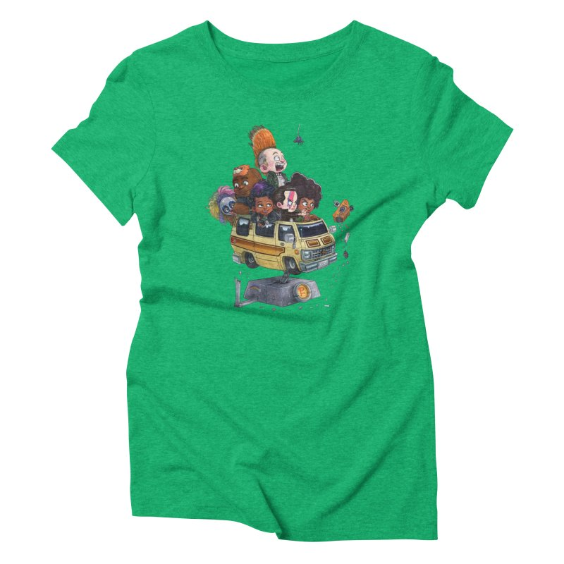Punky Sisters Women's Triblend T-Shirt by Patrick Ballesteros