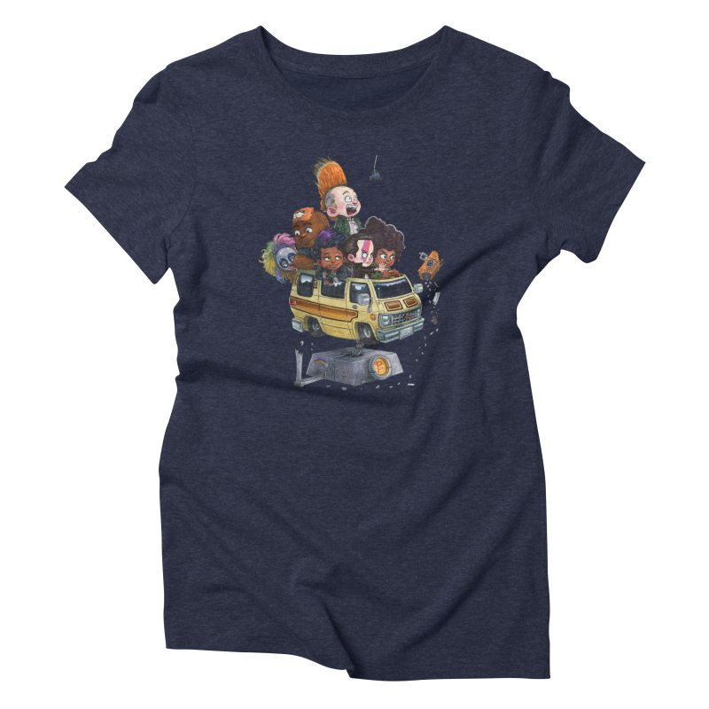 Punky Sisters Women's Triblend T-Shirt by Patrick Ballesteros Art Shop
