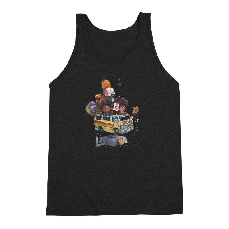 Punky Sisters Men's Triblend Tank by Patrick Ballesteros
