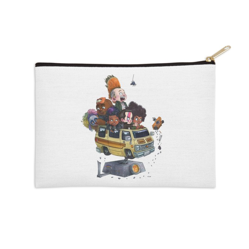 Punky Sisters Accessories Zip Pouch by Patrick Ballesteros Art Shop