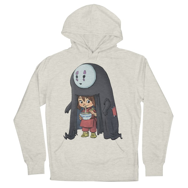 Spirited Ramen Men's French Terry Pullover Hoody by Patrick Ballesteros