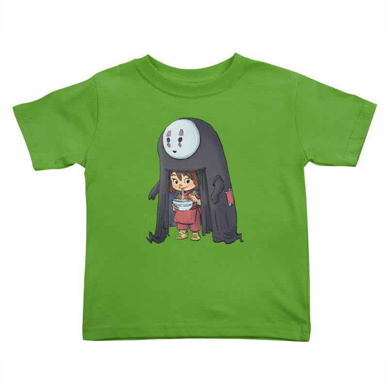 Spirited Ramen Kids Toddler T-Shirt by Patrick Ballesteros