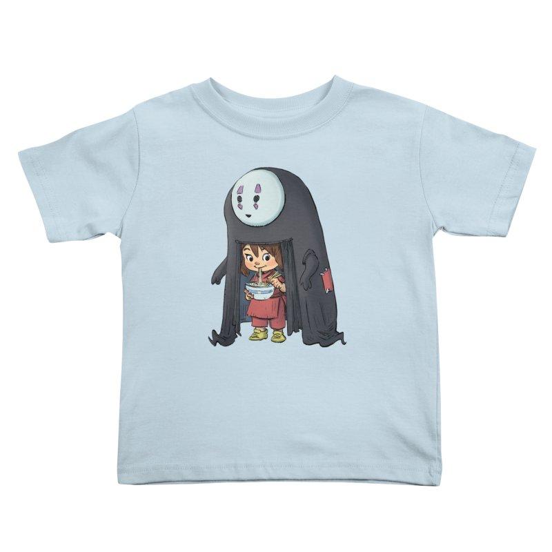 Spirited Ramen Kids Toddler T-Shirt by Patrick Ballesteros Art Shop