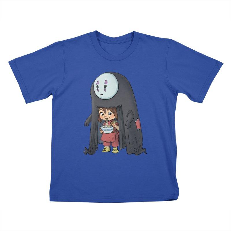 Spirited Ramen Kids T-Shirt by Patrick Ballesteros
