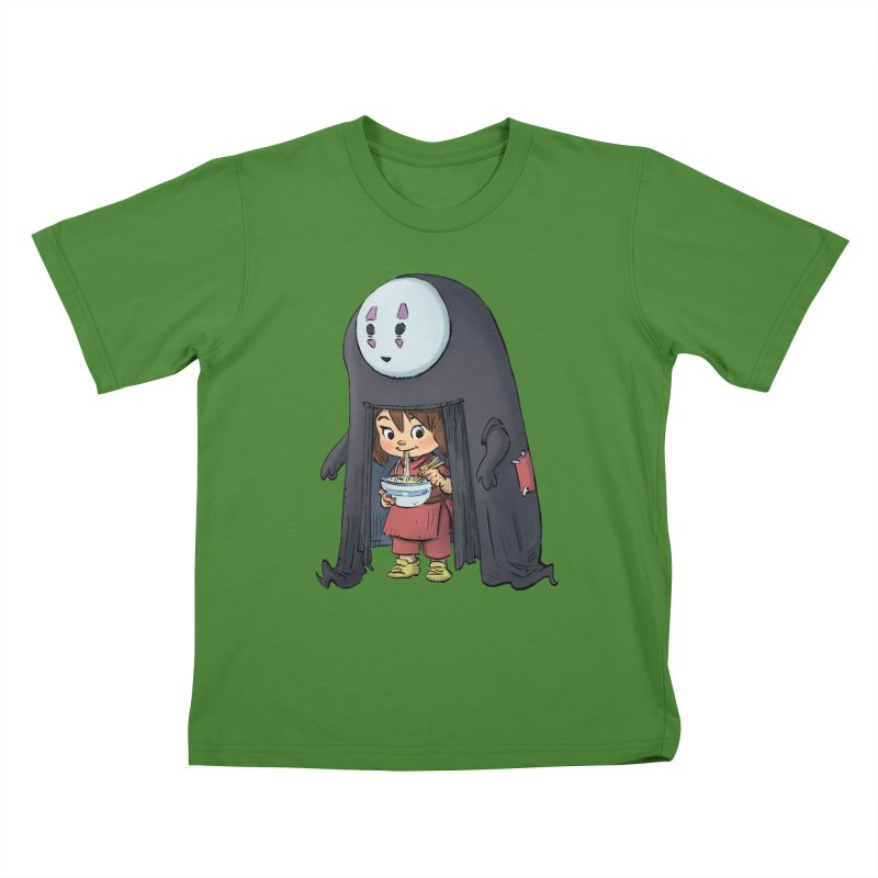 Spirited Ramen Kids T-Shirt by Patrick Ballesteros Art Shop