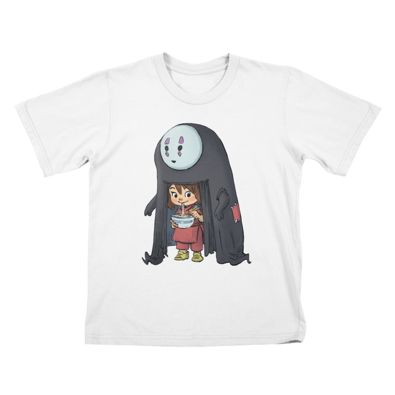 Spirited Ramen Kids T-Shirt by Patrick Ballesteros Art Shop