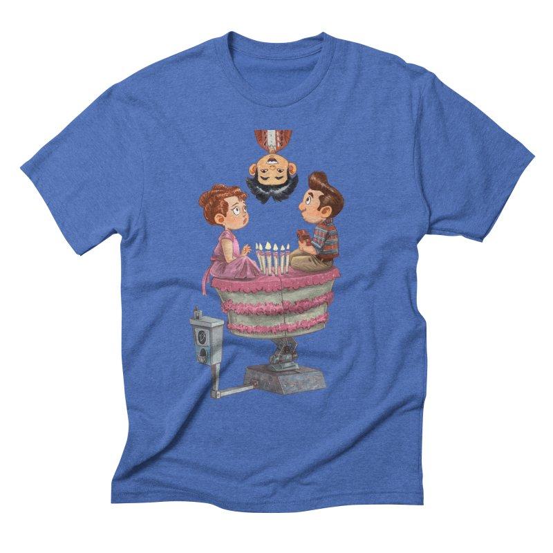 SIX TEENIE CANDLES Men's T-Shirt by Patrick Ballesteros