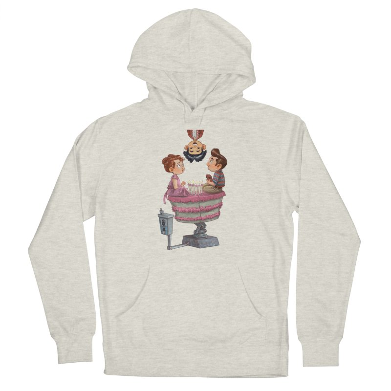 SIX TEENIE CANDLES Women's Pullover Hoody by Patrick Ballesteros