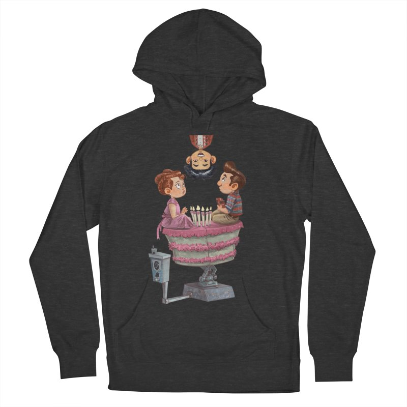 SIX TEENIE CANDLES Women's French Terry Pullover Hoody by Patrick Ballesteros