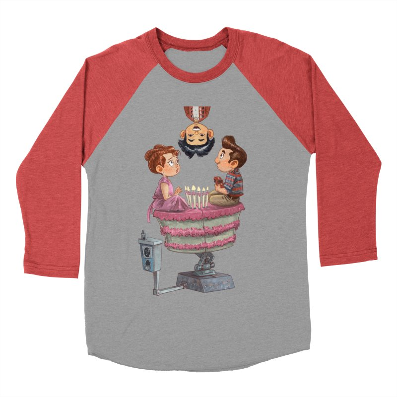 SIX TEENIE CANDLES Women's Baseball Triblend Longsleeve T-Shirt by Patrick Ballesteros Art Shop