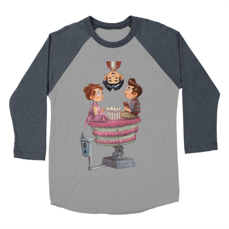SIX TEENIE CANDLES Women's Baseball Triblend T-Shirt by Patrick Ballesteros Art Shop