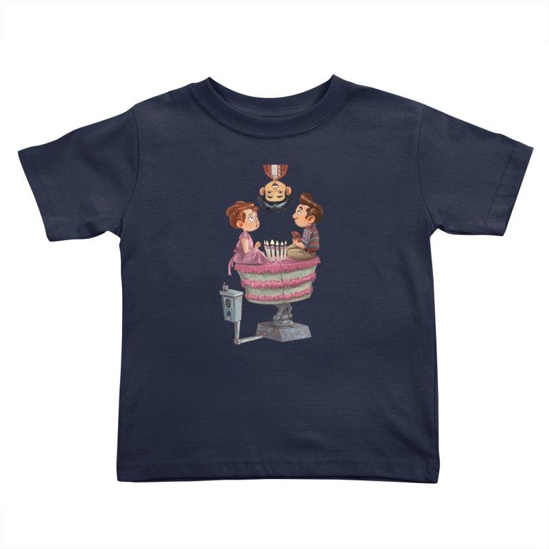 SIX TEENIE CANDLES Kids Toddler T-Shirt by Patrick Ballesteros Art Shop