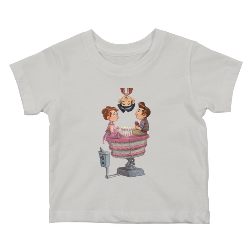 SIX TEENIE CANDLES Kids Baby T-Shirt by Patrick Ballesteros Art Shop