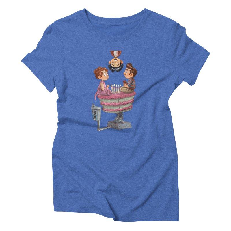 SIX TEENIE CANDLES Women's T-Shirt by Patrick Ballesteros