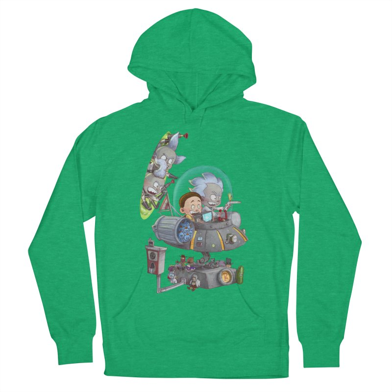 MORTY-FIED Women's French Terry Pullover Hoody by Patrick Ballesteros Art Shop