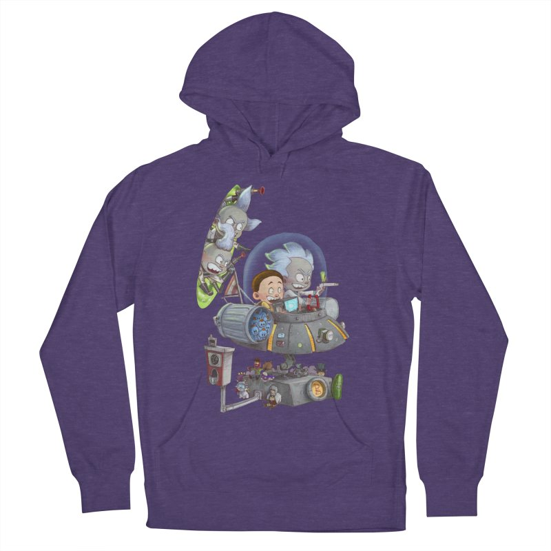 MORTY-FIED Women's Pullover Hoody by Patrick Ballesteros Art Shop