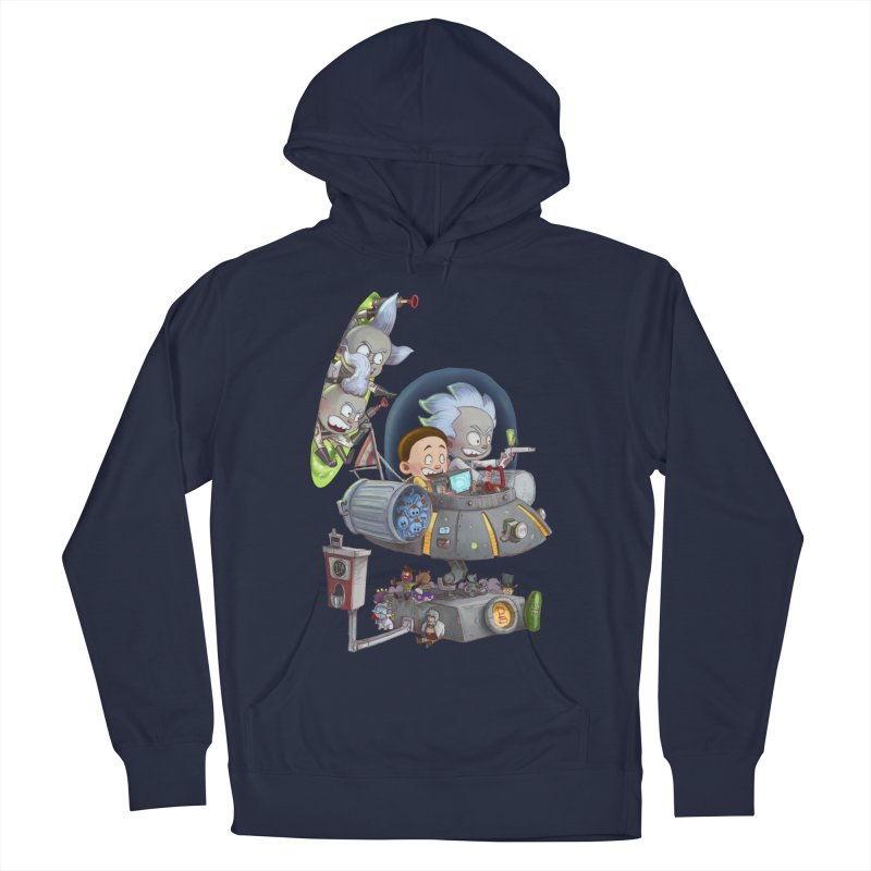 MORTY-FIED Women's French Terry Pullover Hoody by Patrick Ballesteros