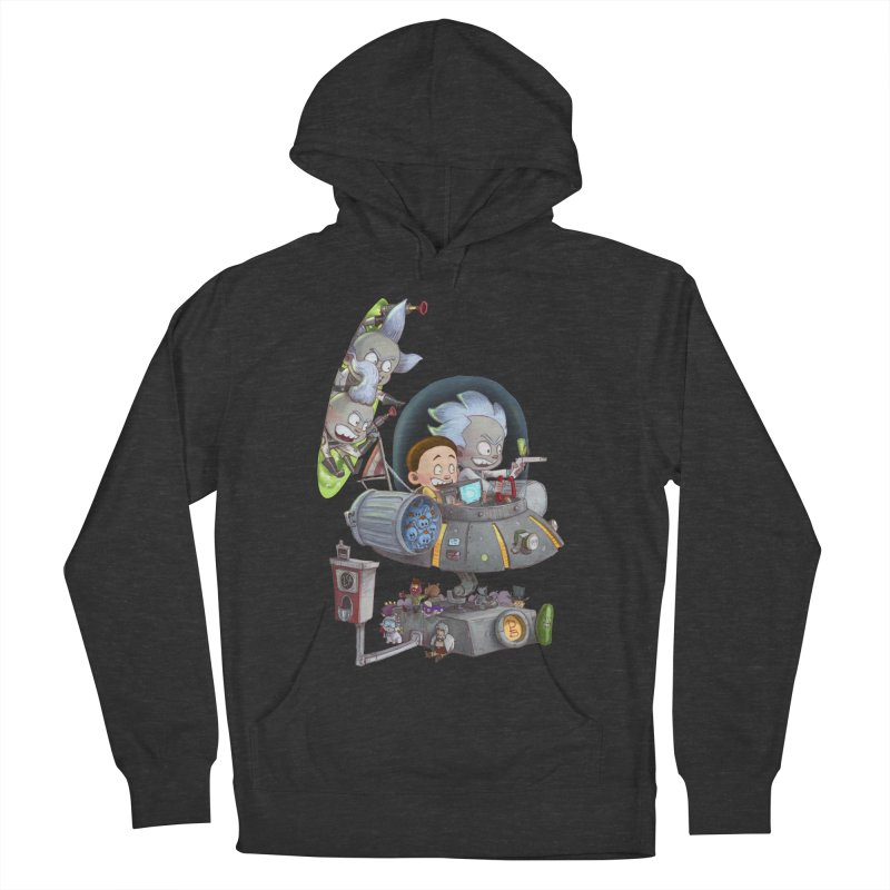 MORTY-FIED Men's Pullover Hoody by Patrick Ballesteros Art Shop