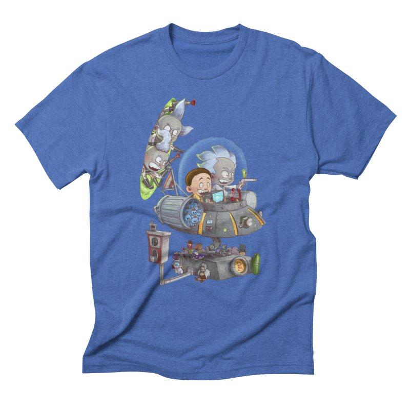 MORTY-FIED Men's Triblend T-Shirt by Patrick Ballesteros Art Shop