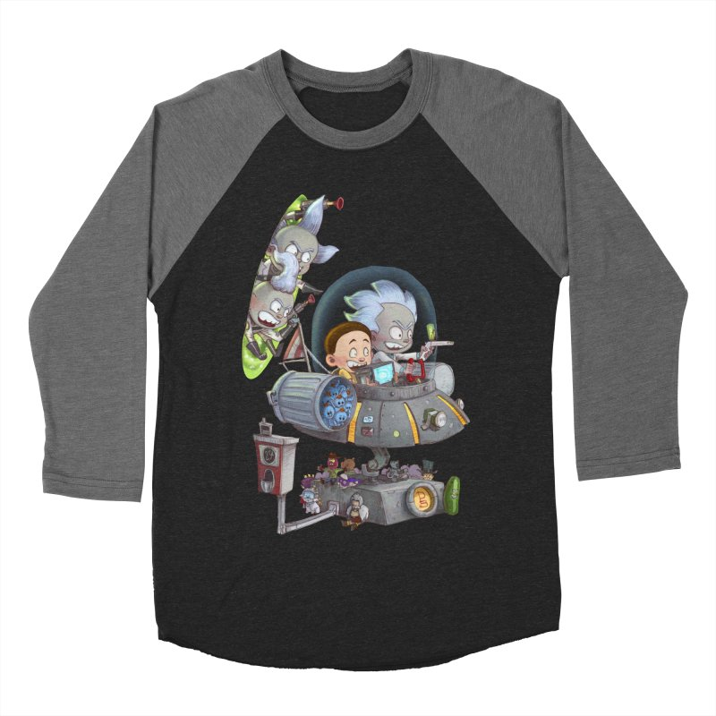 MORTY-FIED Men's Baseball Triblend T-Shirt by Patrick Ballesteros Art Shop
