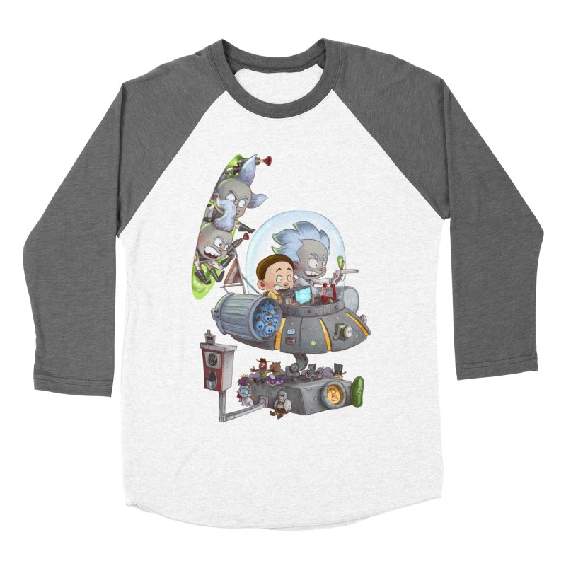 MORTY-FIED Men's Baseball Triblend Longsleeve T-Shirt by Patrick Ballesteros Art Shop