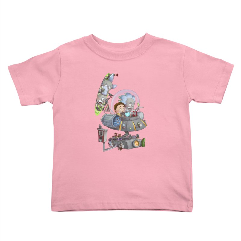 MORTY-FIED Kids Toddler T-Shirt by Patrick Ballesteros