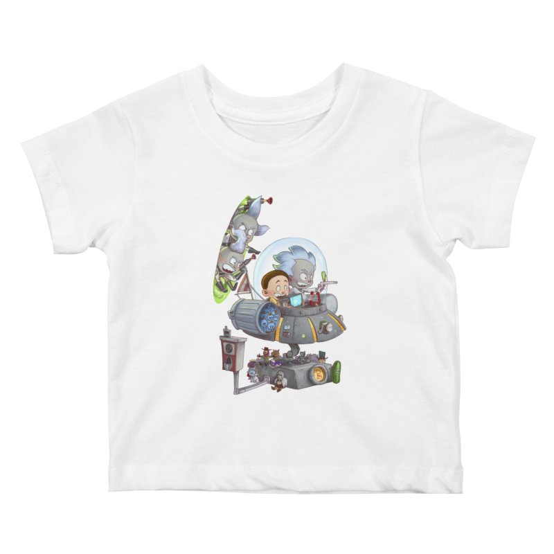 MORTY-FIED Kids Baby T-Shirt by Patrick Ballesteros