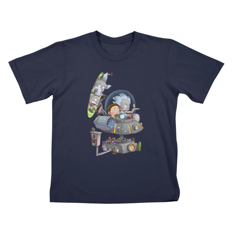 MORTY-FIED Kids T-Shirt by Patrick Ballesteros Art Shop