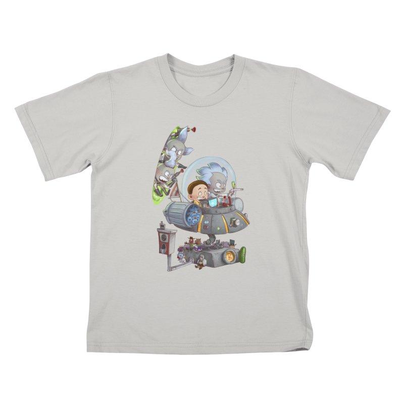 MORTY-FIED Kids T-Shirt by Patrick Ballesteros Art Shop
