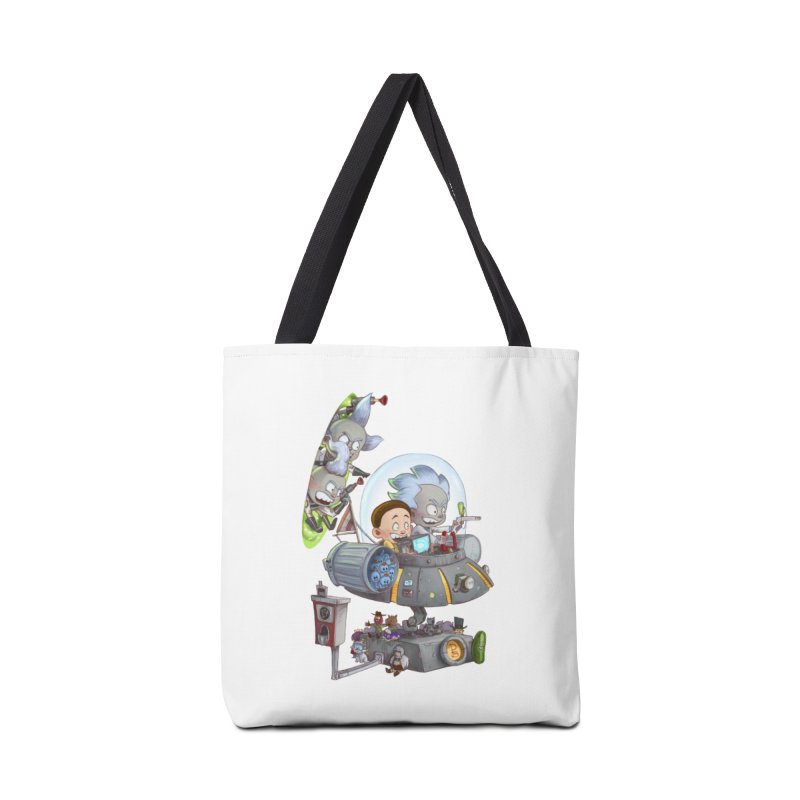 MORTY-FIED Accessories Bag by Patrick Ballesteros Art Shop