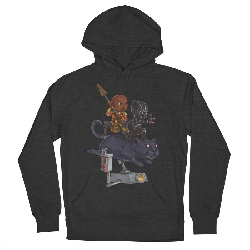 Sneak Attack Women's French Terry Pullover Hoody by Patrick Ballesteros