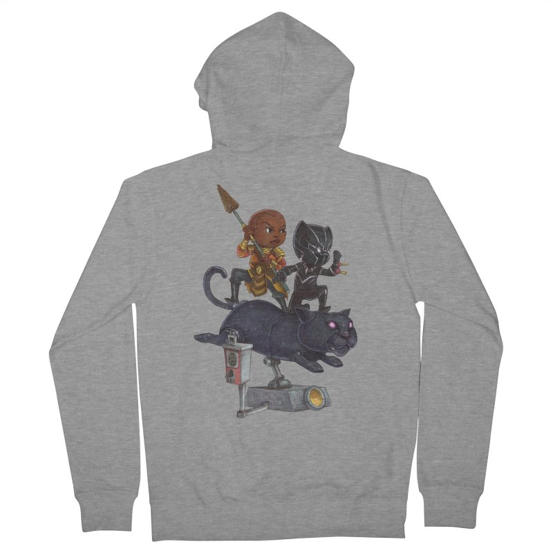 Sneak Attack Men's French Terry Zip-Up Hoody by Patrick Ballesteros Art Shop